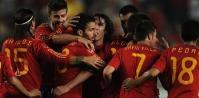 6ゴールを奪ったスペイン