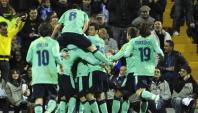 バルセロナの選手たち