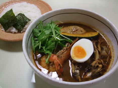 チキンと北海道舞茸のスペシャルカレー