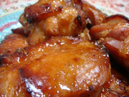 鶏辛み焼き