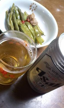 一人ビール