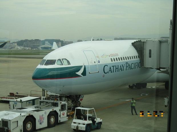 キャセイパシフィック航空A340-300