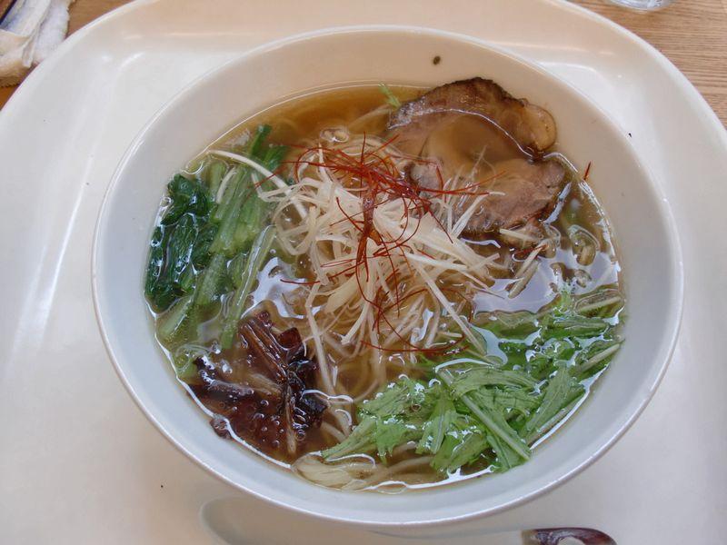 GEN Natural Kitchen@豊洲・玄流塩ラーメン