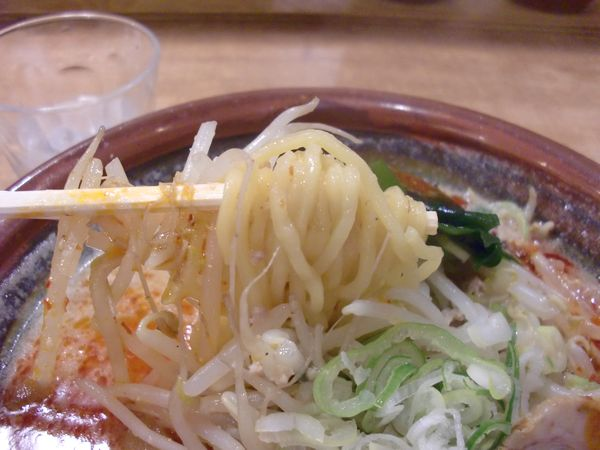 味噌樽@豊洲・麺上げ
