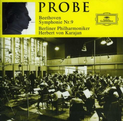 ベートーヴェン:交響曲第9番 - リハーサル /カラヤン、ベルリン・フィル<br />