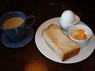 コーヒーと、バタートースト