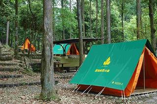 懐かしの、三角テント