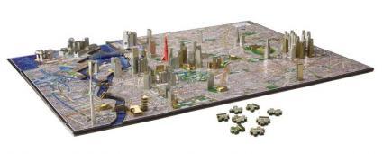 「4D CITY SCAPE TIME PUZZLE」