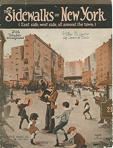 The Sidewalks of New York