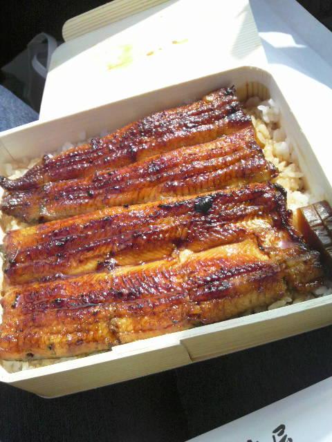 竹屋の鰻弁当