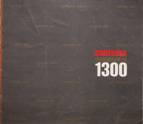65年8月 コンテッサ1300 カタログ