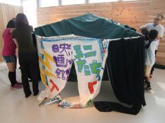 縮小・テント設営 3