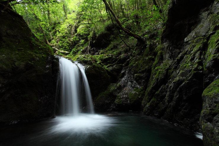 木谷峡の滝