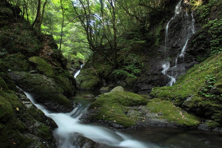 木谷峡の滝2