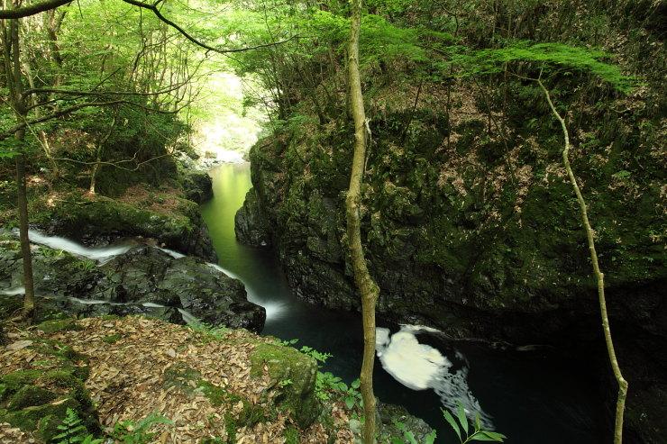 木谷峡の滝6