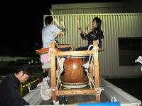 10.10.6 東田太鼓台の練習1