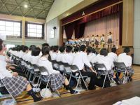 2011.9.30 新居浜東高校東雲祭 全体会1