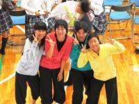 2011.9.30 新居浜東高校東雲祭 書道部の皆さん2