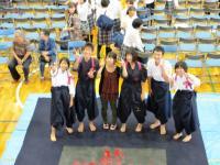 2011.9.30 新居浜東高校東雲祭 書道部の皆さん
