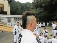 2011.10.14 高橋君のヘアースタイル