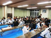2011.10.15 自治会館での夕食
