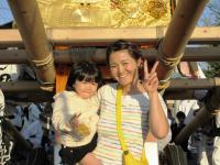 2011.10.16九州から帰省した姪達