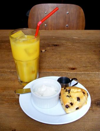 『Cafe Hi famiglia(カフェ ハイファミリア)』のチョコチップスコーン