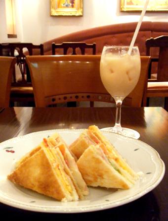 『銀座みゆき館』のサンドイッチ