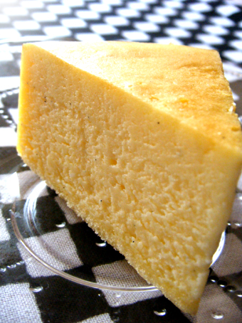 『オーブンミトン』のチーズケーキ