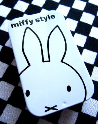 『miffy style(ミッフィースタイル)』のラムネ缶