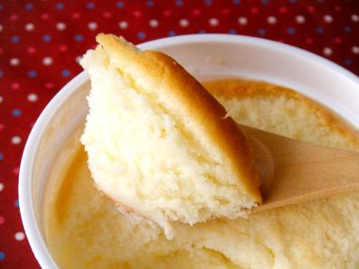 『東京ミルクチーズ工場』のチーズスフレ