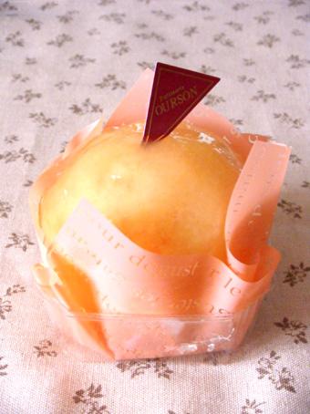 『ウルソン』の桃のショートケーキ
