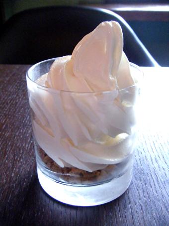 『Rue Favart(リュ・ファヴァー)』のソフトクリーム