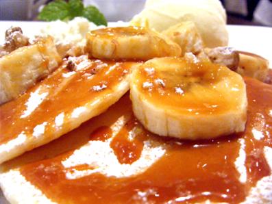 『エディアール』の塩キャラメルのパンケーキ