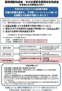 雇調金の要件緩和(小)20101202