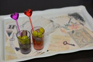 オイル銀杏と砂肝☆紫紫