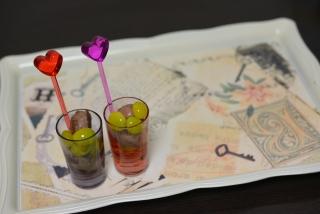 オイル銀杏と砂肝☆赤紫