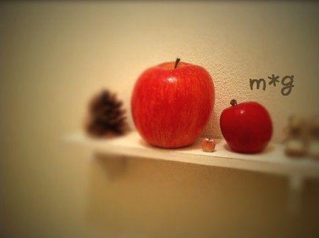 りんご×3