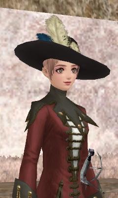 素敵なフェルト帽