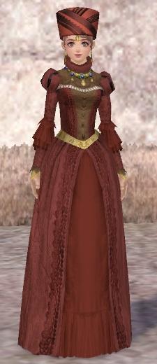 ラフカラードレスの赤!
