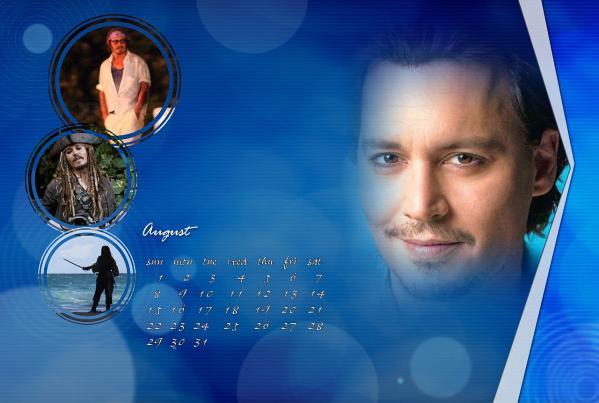 ジョニーカレンダー2010年8月ブログ用
