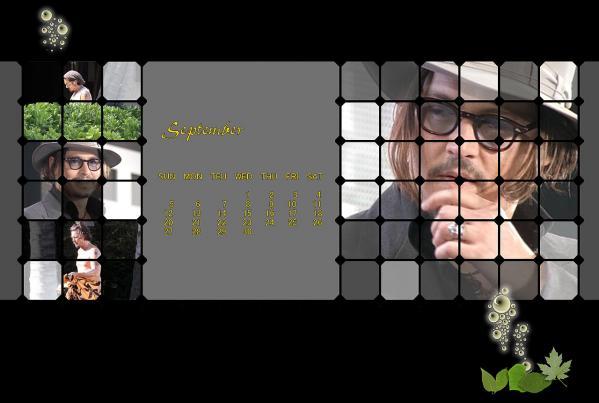 ジョニーカレンダー2010年9月ブログ用
