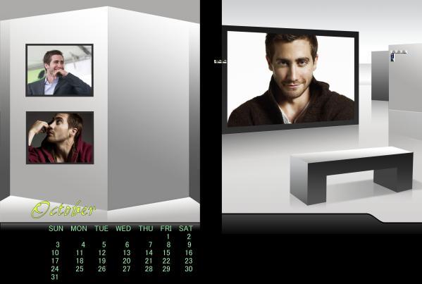 ジェイクカレンダー2010年10月