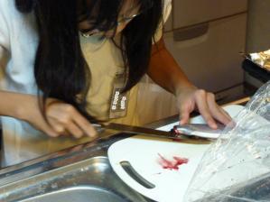 娘魚の料理