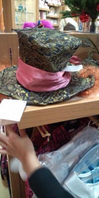 マッドハッターの帽子