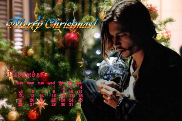 カレンダー2010年12月ジョニー案2