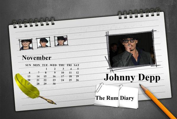 ジョニーカレンダー2011年11月ブログ用