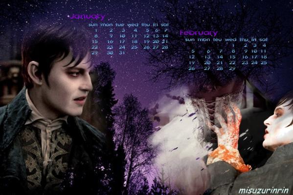 カレンダー2012年ジョニー用