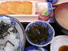生ウニ定食(鈴木水産)