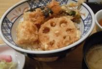 黒川/野菜天丼